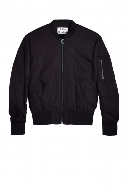 Acne Encore Zip Up Bomber Jacket By Acne