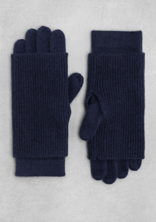 Other Stories Double Layered Cashmere Gloves