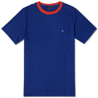 Paul Smith Stripe Tee Indigo