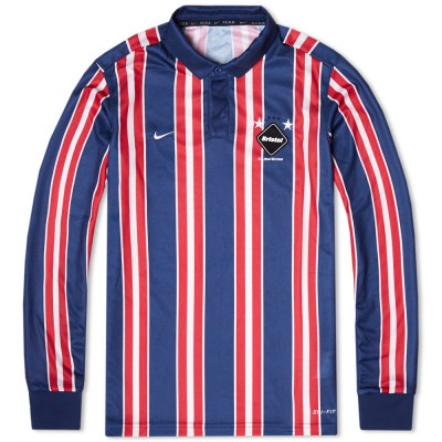 Nike F.C. Real Bristol Dri Fit Game Jersey Midnight Navy Red White