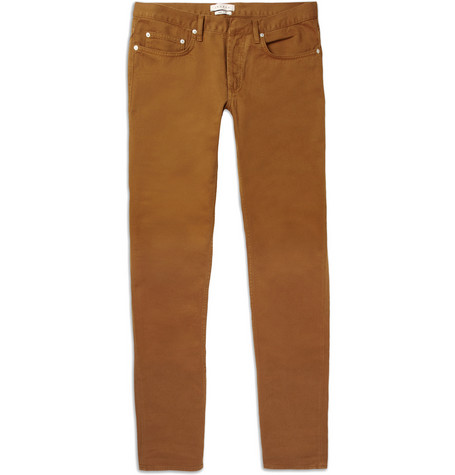 Sandro Cotton Twill Trousers MR PORTER