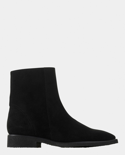 Boots En Daim Chaussures Homme The Kooples
