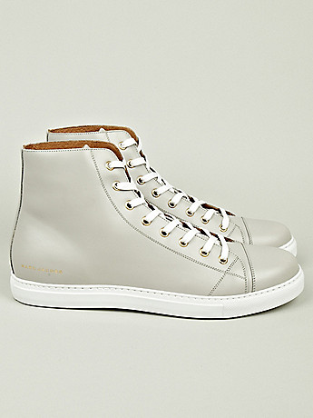 Marc Jacobs Men s High Top Sneaker in white at oki ni