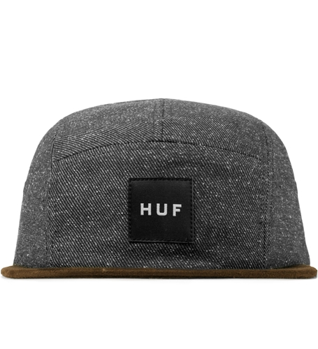Huf Black Tweed Volley Cap Hypebeast Store. Shop Online For Men's Fashion Streetwear Sneakers Accessories