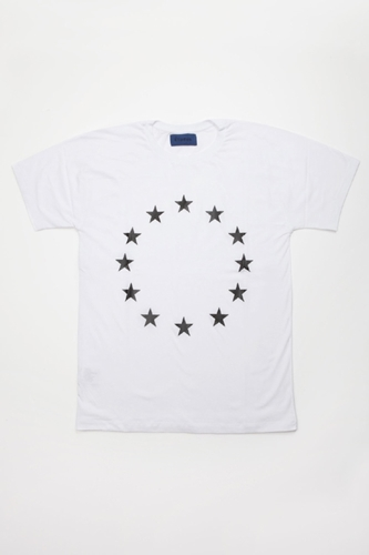 Etudes Powder Slim Europe T Shirt Centre Commercial