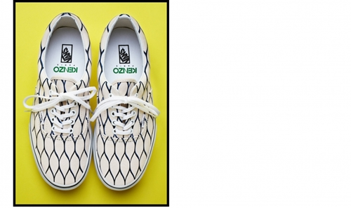 VANS x KENZO Shoes White Shoes KENZO E Shop Buy ready to wear and accessories online