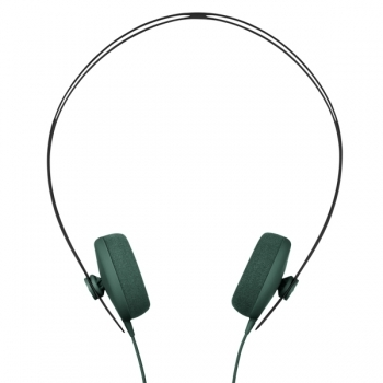 Tracks Headphone Dark Green Headphones Clothing Finnish Design Shop