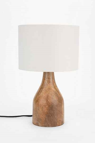 4040 Locust Wooden Lamp Base Urban Outfitters