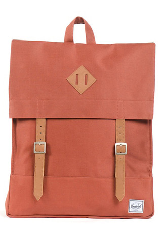 GOOD AS GOLD HERSCHEL SUPPLY CO survey backpack rust