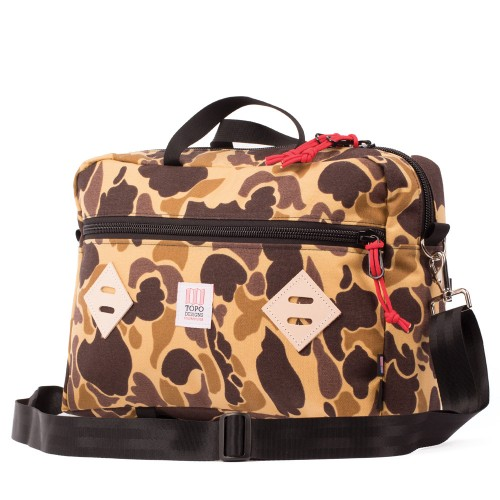 Topo Designs Mountain Briefcase Duck Camo Undscvrd
