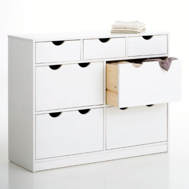 Commode 7 tiroirs pin massif