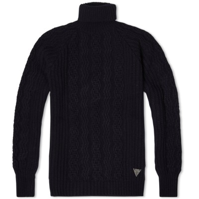 Barbour Dept. B Sub Deck Roll Neck Navy
