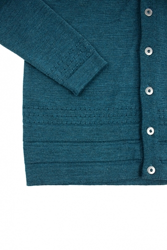 Four Horsemen Shop Modulo Cardigan Mineral Blue
