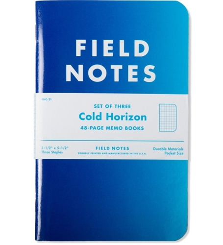 Field Notes Cold Horizon Limited Edition Hypebeast Store. Shop Online For Men's Fashion Streetwear Sneakers Accessories