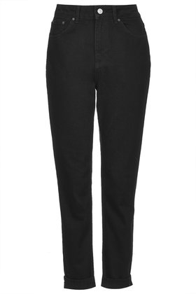 Moto Black Mom Jeans Jeans Clothing Topshop
