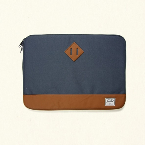 HERSCHEL CANVAS COMPUTER SLEEVE Navy