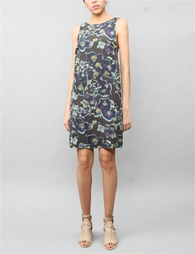 Creatures Of Comfort Lauren Dress Floral Black