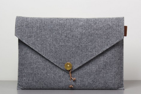 Felt Laptop Cover Grey