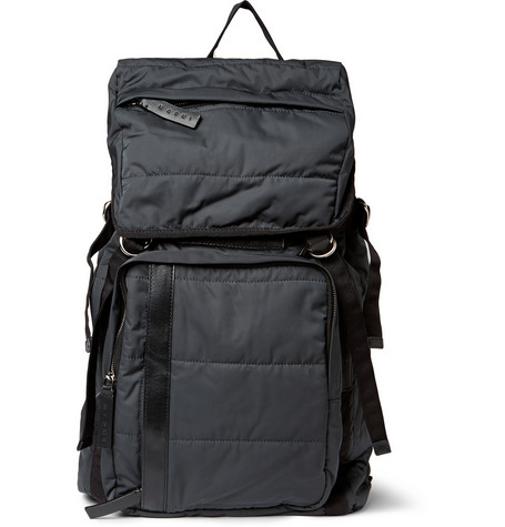 Marni Leather Trimmed Lightly Quilted Backpack Mr Porter