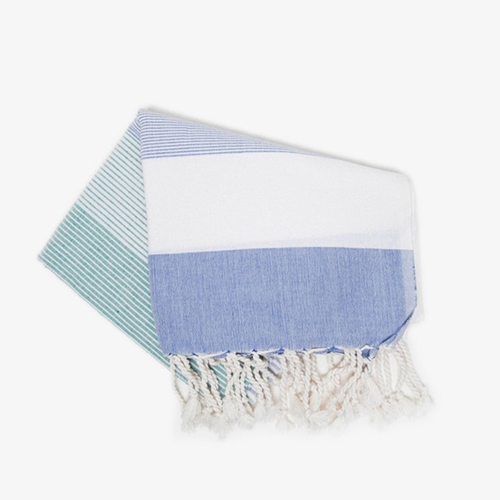 Turkish Pestemal Towel Stripes Poketo
