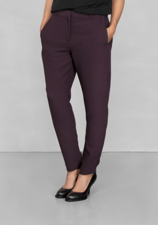 Other Stories Crepe Trousers