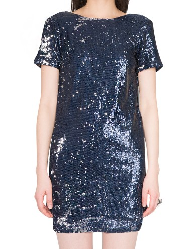 Navy Sequin Dress Promsequin Dress Sequin Blue Dress 89