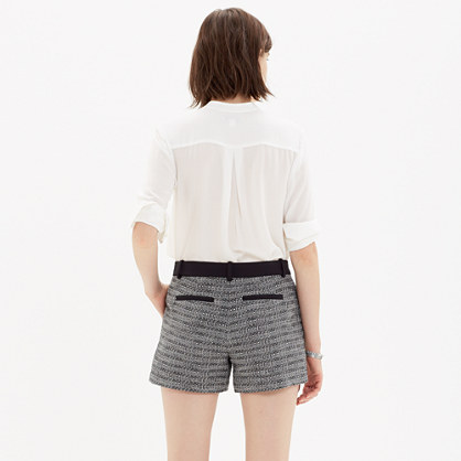 Textured Shorts New Arrivals Madewell