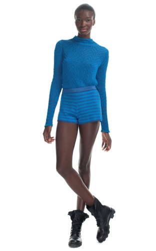 Shop Jen Kao Knit Shorts at Moda Operandi