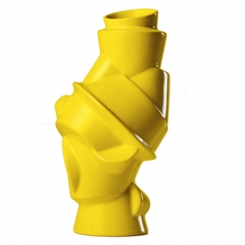 Closely Separated Vase Yellow Closely Separated Vases Decoration Finnish Design Shop