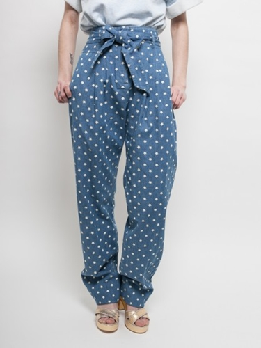 Karen Walker Belted Orion Pants At Gargyle