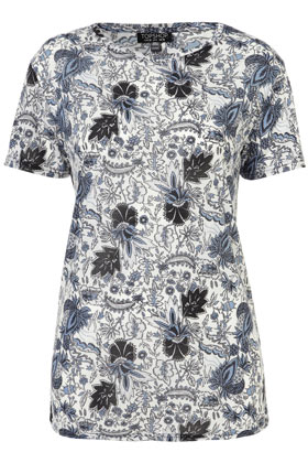 Scandi Floral Tee New In This Week New In Topshop