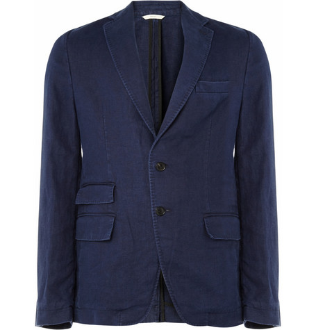 Billy Reid Unstructured Washed Linen Blazer MR PORTER