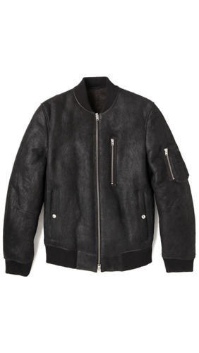 Closed Ma1 Shearling Jacket East Dane
