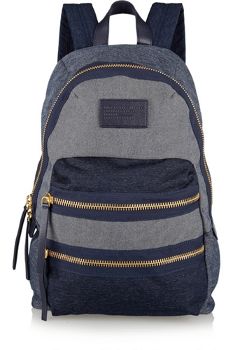 Marc By Marc Jacobs Packrat Chambray Backpack Net A Porter.Com