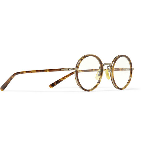 Eyevan 7285 Round Frame Acetate Optical Glasses Mr Porter