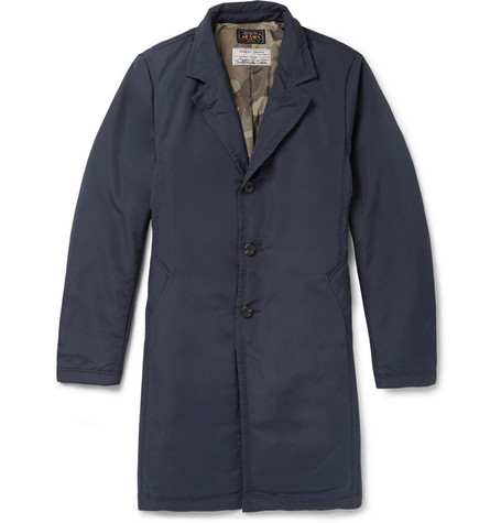 Beams Plus Down Filled Overcoat Mr Porter