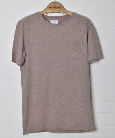 Ceil Basic T Shirt Light Brown The Great Divide