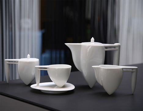 Milan 2012 Preview Flying High And Free Tea Set By Heinrich Wang