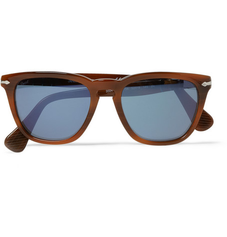 Persol Square Frame Acetate Sunglasses MR PORTER