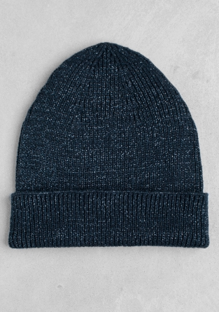 Other Stories Cotton Blend Beanie