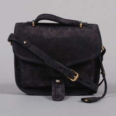 Opening Ceremony Oc Ace Handbag Anthracite Suede