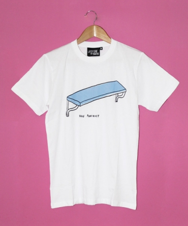 Lazy Oaf Lazy Oaf X Tate Shelf Portrait T Shirt