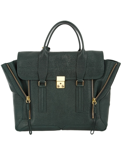 Green Leather Pashli Tote 3 1 Phillip Lim Shop the latest 3 1 Phillip Lim collection at Liberty co uk