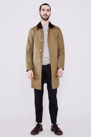 Mackintosh Dunkled Coat Khaki Tres Bien Shop