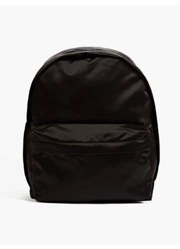 Men's Olov Bomb Black Nylon Backpack