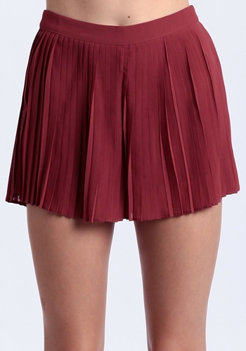 Wildfire Pleated Shorts Shorts Clothing