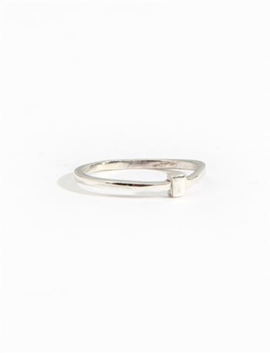 Aesa Wedge Ring Sterling Silver