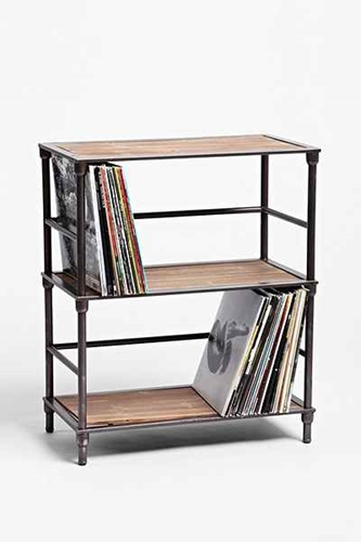 Vinyl Storage Shelf Urban Outfitters