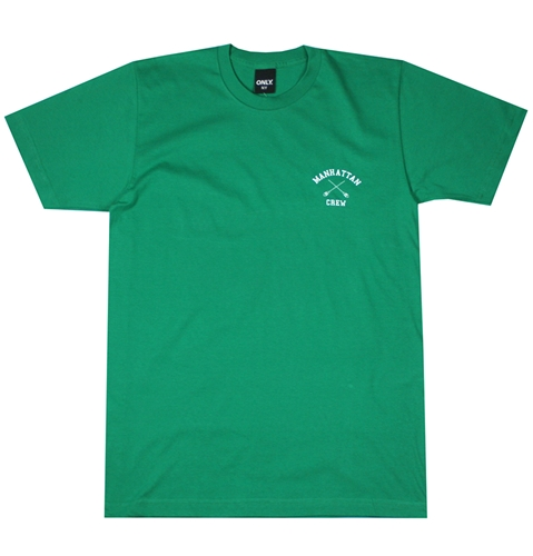 Only Ny Manhattan Crew T Shirt In Kelly Green Huh. Store