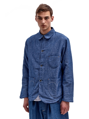 Levi's Red Men's Chambray Double Layer Shirt Jacket Ln Cc